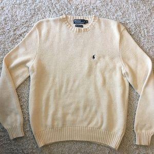 Polo Ralph Lauren Prima Cotton Crewneck Sweater(L)